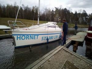Wodowanie Horneta